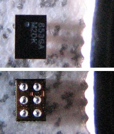 TI TPS62601 front and back
