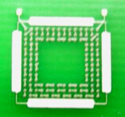 Underfill on pcb