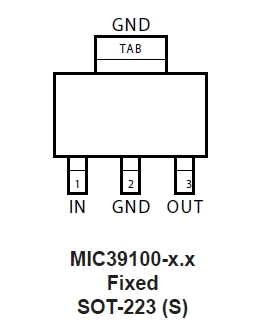 MC39100 pin out