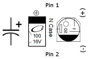 Marking capacitors