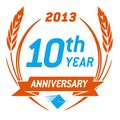 10th anniversary badge