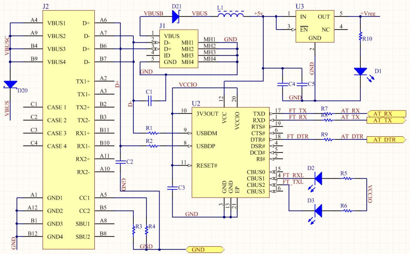Usb Type A Schematic Information Of Wiring Diagram